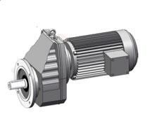 RXF法兰轴伸式单级斜齿轮减速机