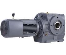SA系列空心轴蜗轮蜗杆-斜齿轮减速机