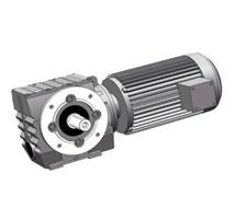 SF系列法兰轴伸式蜗轮蜗杆-斜齿轮减速机